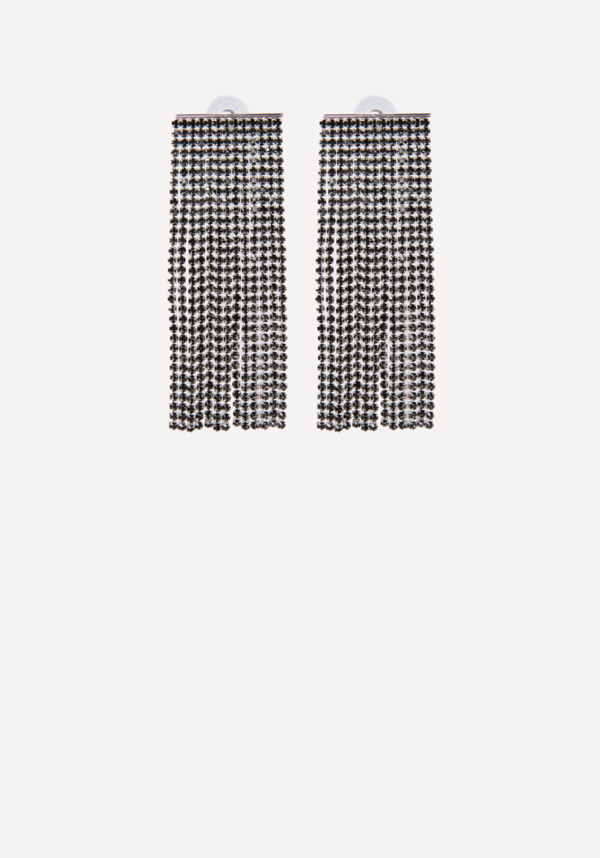 Crystal Wide Earrings at bebe in Sherman Oaks, CA | Tuggl