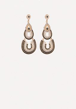 bebe Layered Drop Earrings