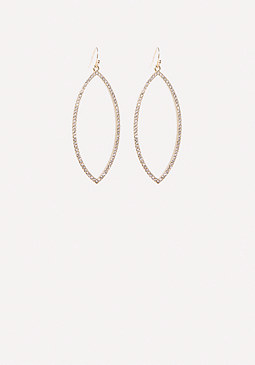 bebe Marquise Drop Earrings