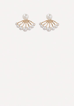 bebe Faux Pearl Earrings