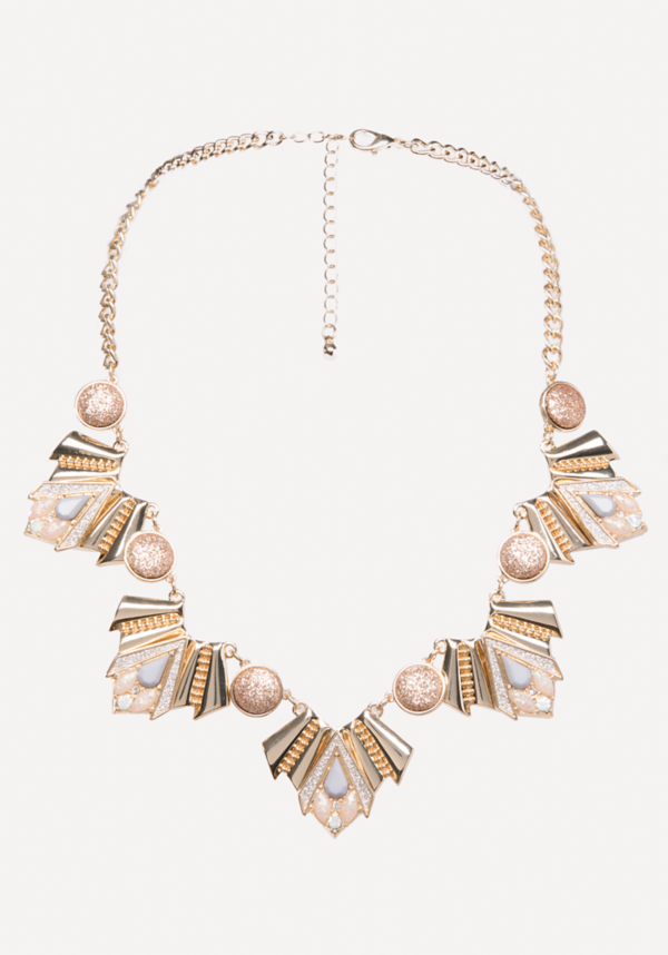 Geo Statement Necklace at bebe in Sherman Oaks, CA | Tuggl