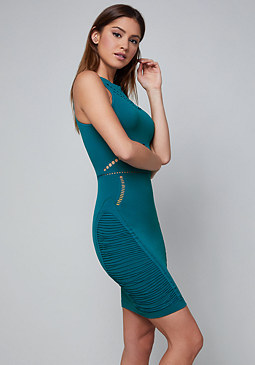 bebe Cutout Bodycon Dress