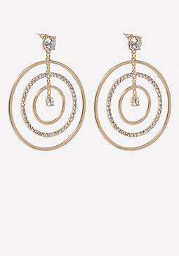 bebe Multi-Hoop Earrings