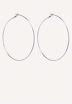 bebe Oversize Hoop Earrings