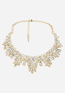 bebe Ornate Statement Necklace