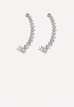 bebe Crystal Ear Crawlers