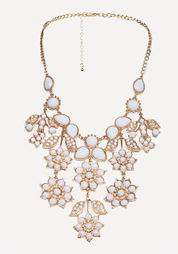 bebe Floral Necklace