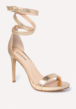 bebe Athena Wrap Sandals