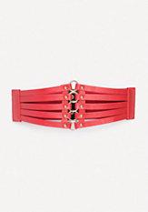 bebe Multi-Strap Link Belt