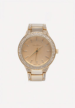 bebe Bling Rim Watch
