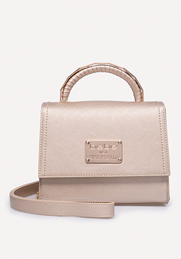 bebe Logo Mini Satchel
