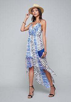 Bebe Double Strap Maxi Dress