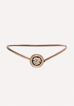 bebe Lion Medallion Belt