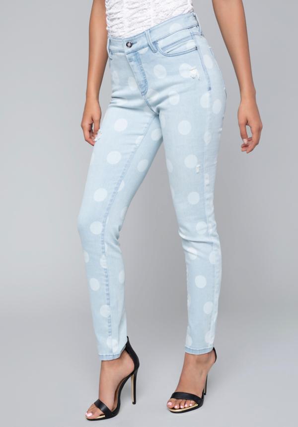 Polka Dot Jeans | Tuggl