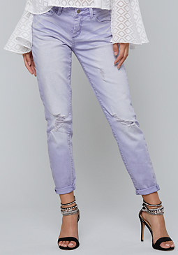 bebe Color Skinny Jeans