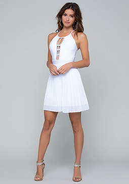 bebe Artemis Bandage Dress
