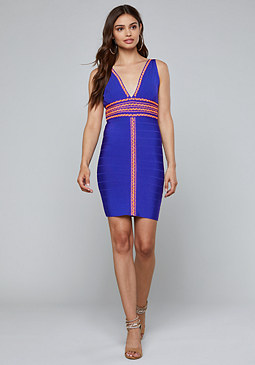 bebe Naya Bandage Dress