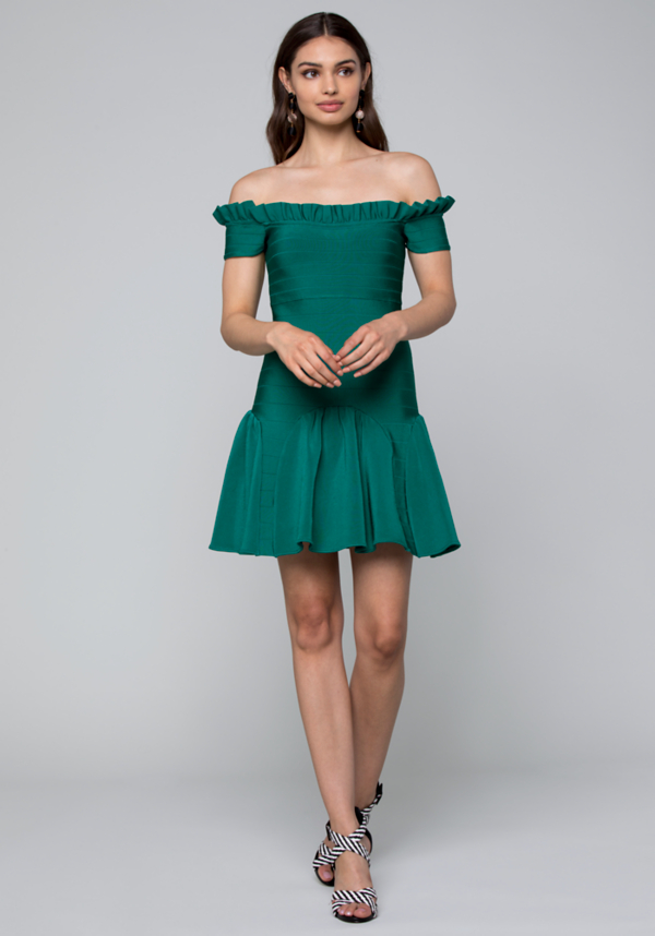 Ophelia Bandage Dress | Tuggl
