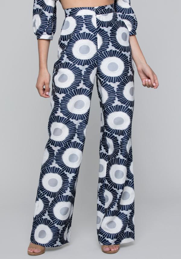 Sunfloral Wide Leg Pants | Tuggl