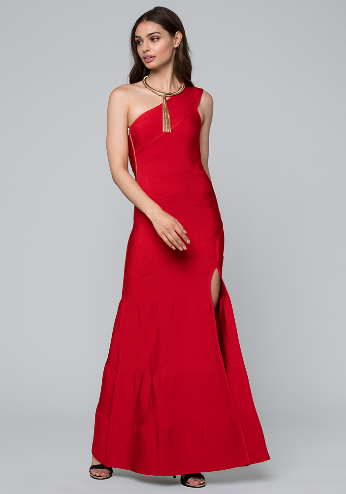Shoptagr | Mina Bandage Gown by Bebe