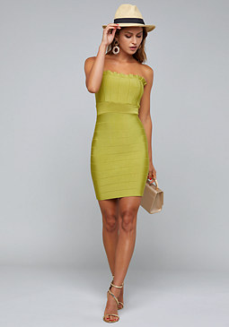 bebe Audrey Bandage Dress