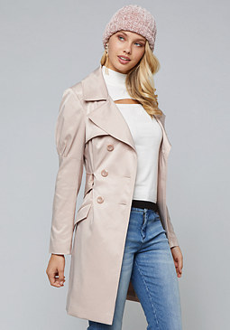 bebe Dressy Trench Coat