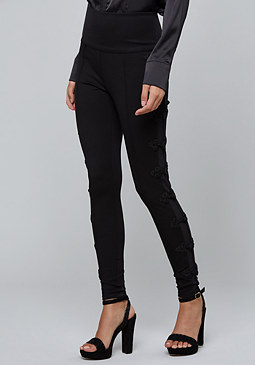 bebe High Waist Tux Leggings