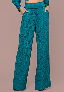 bebe Claire Wide Leg Pants