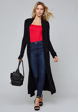 bebe Heavenly Sweater Duster