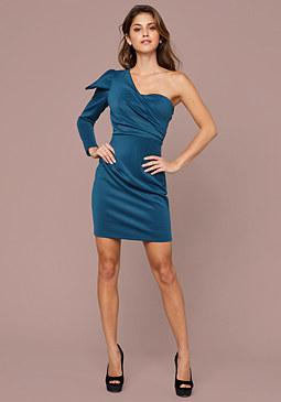 Bebe Dramatic Sleeve Dress