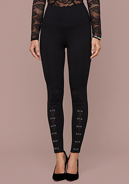 bebe Haley Hook & Eye Leggings