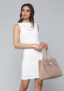 Bebe Sleeveless Sweater Dress