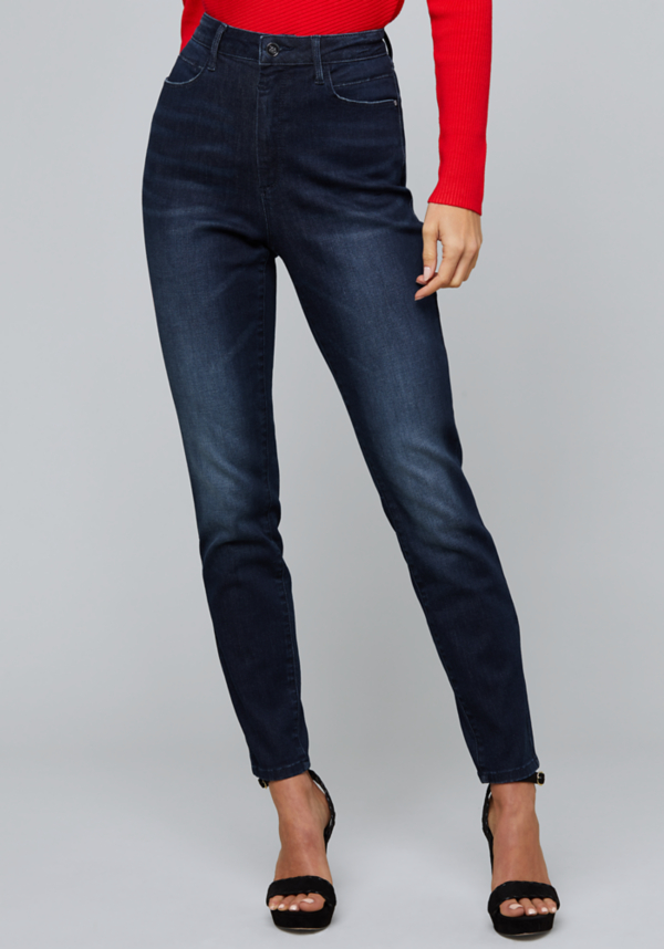 High Rise Skinny Jeans | Tuggl