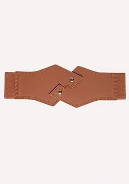 bebe Crossover Stretch Belt