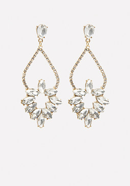 bebe Mini Chandelier Earrings