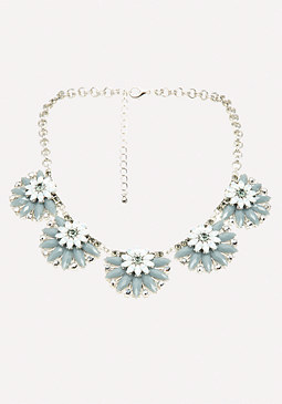 bebe Floral Starburst Necklace