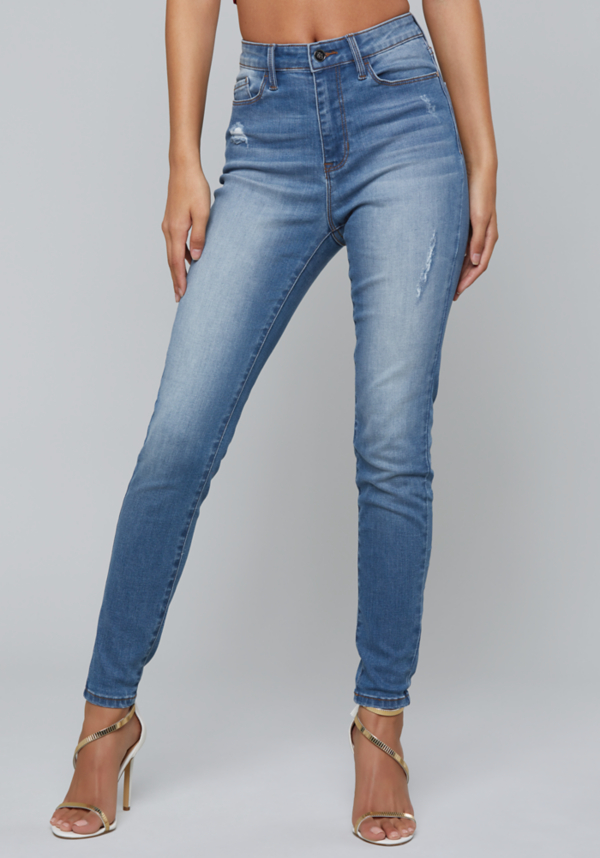 Distressed Skinny Jeans | Tuggl