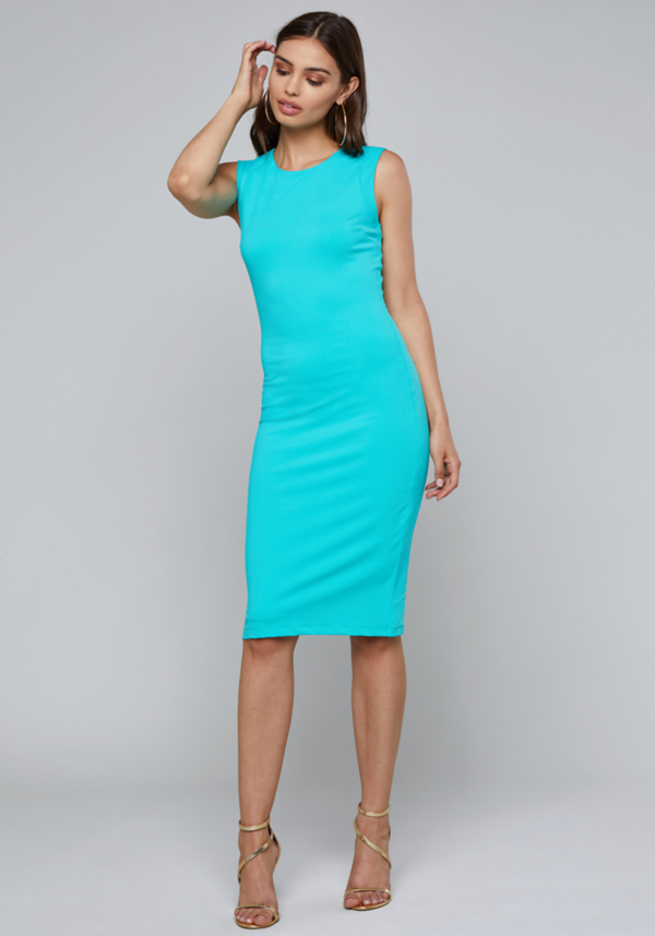 Bodycon Midi Dress | Tuggl