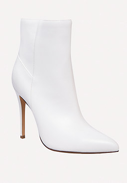 bebe Demii Faux Leather Booties
