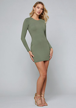 bebe Stretchy Bodycon Dress