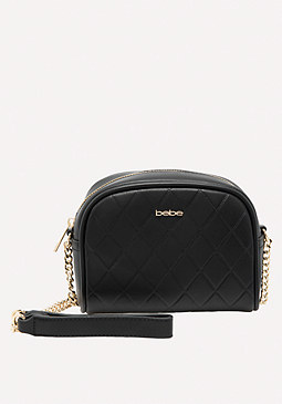 bebe Chain Strap Crossbody Bag