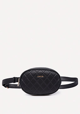 bebe Quilted Belt Bag