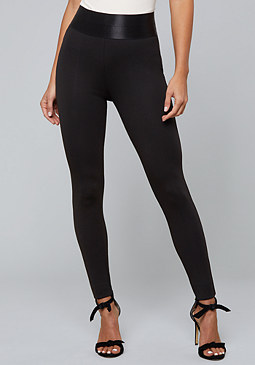bebe Corset High Waist Leggings