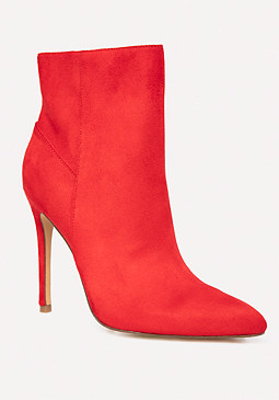 bebe Sam Faux Suede Booties