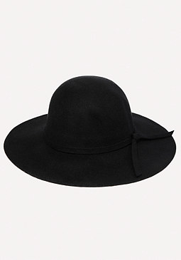 bebe Wool Felt Floppy Hat