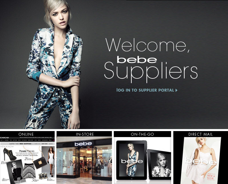 Welcome bebe Suppliers!