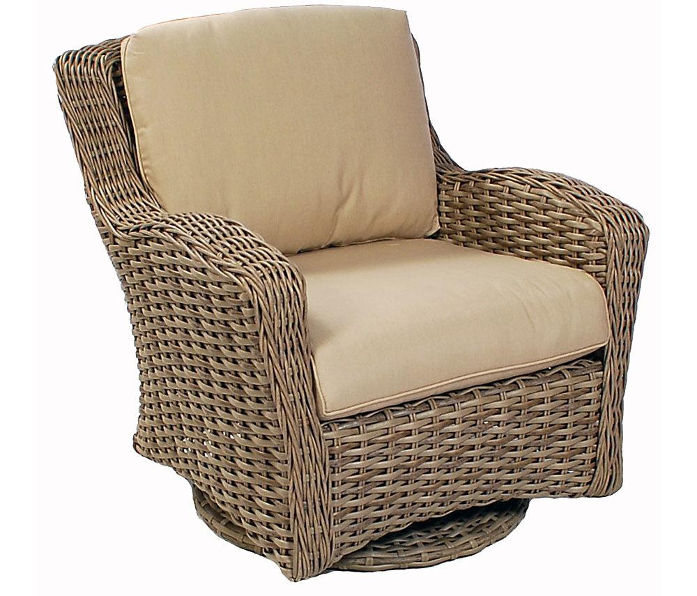 Ebel Dreux Swivel Glider Chair