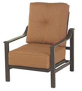 Alu Mont Penbrooke Lounge Chair Spectrum Caribou Patio