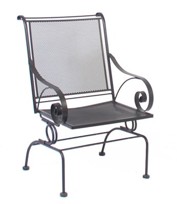 Meadowcraft Monticello Coil Spring Chair