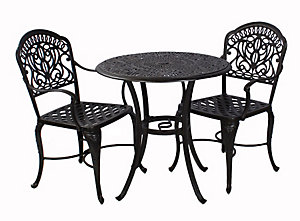 Forged Iron Chair Puebla furthermore Delphi Dining Arm Chair Without Cushion additionally Hanamint tuscany piece bistro set dine round table furthermore Search likewise Toy. on veranda furniture collection
